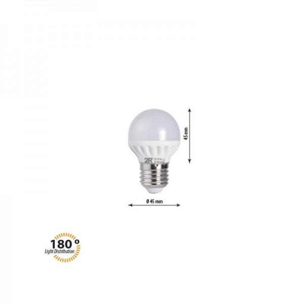 LED крушка CAP 3W E27 220V 2700K