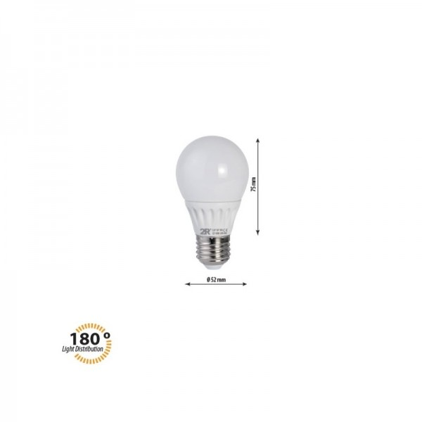 LED крушка CAP 5W E27 220V 2700K