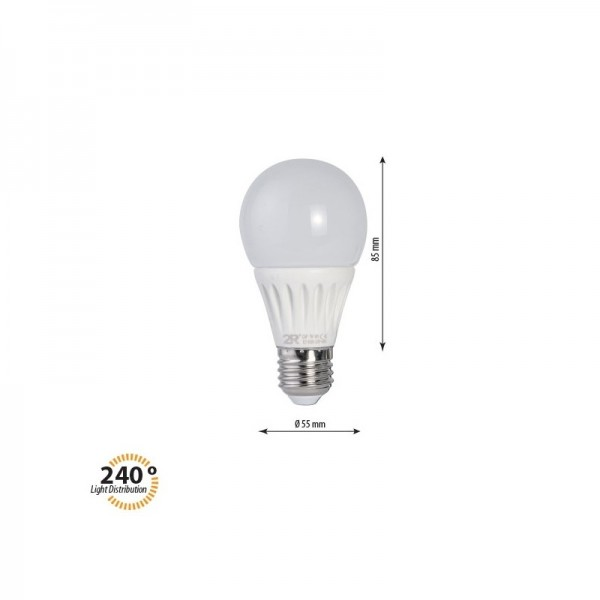 LED крушка CAP 7W E27 220V 2700K