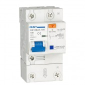 Дефектнотокова защита CHINT DZ158LE, 100A 100mA, 1P+N, 6kA