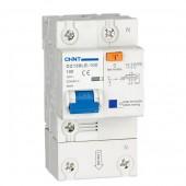Дефектнотокова защита CHINT DZ158LE, 80A 100mA, 1P+N, 6kA