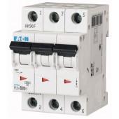 Предпазител автоматичен Eaton PL6-C20, 20A, 3P, 6kA