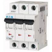 Предпазител автоматичен Eaton PL6-C32, 32A, 3P, 6kA