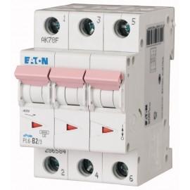 Предпазител автоматичен Eaton PL6-C4, 4A, 3P, 6kA