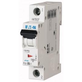Предпазител автоматичен Eaton PL6-C6, 6A, 1P, 6kA
