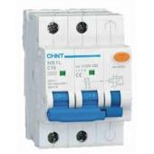 Дефектнотокова защита CHINT с предпазител NB1L-40, 16A 30mA, 1P+N, 6kA