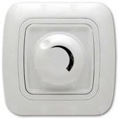 Ключ за осветление реостат (димер) 800W, бял, Gokku