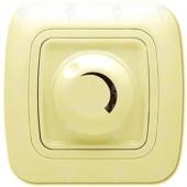 Ключ за осветление реостат (димер) 800W, крем, Gokku