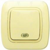 Ключ за осветление стълбищен, крем, светещ, Gokku