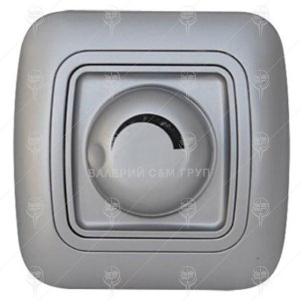 Ключ за осветление реостат (димер) 800W, сив металик, Gokku