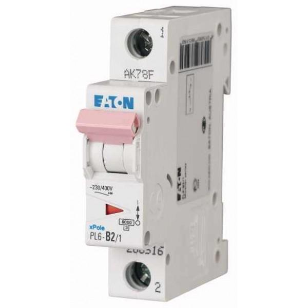 Предпазител автоматичен Eaton PL6-C4, 4A, 1P, 6kA