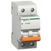 Дефектнотокова защита Шнайдер - Schneider Electric Domae ID, 2P, 63A, 30mA, клас AC