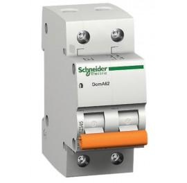 Дефектнотокова защита Шнайдер - Schneider Electric Domae ID, 2P, 63A, 300mA, клас AC