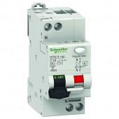 Дефектнотокова защита Шнайдер - Schneider Electric с вграден автоматичен предпазител DPN N Vigi, 2P, 40A, 30mA, 6kA