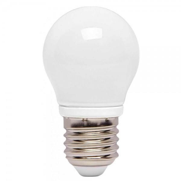 LED крушка 4W E27 220V P45 матирана CW 6000K