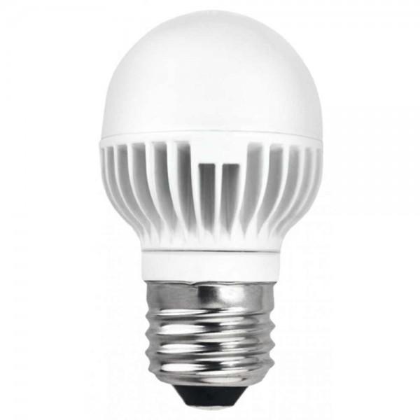 LED крушка 7W E27 220V P45/AL матирана CW 6500K