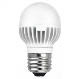 LED крушка 7W E27 220V P45/AL матирана WW 2700K