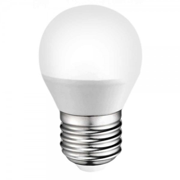 LED крушка Plastic 5W E27 220V P45 матирана NW 4000K