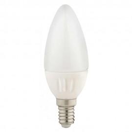 LED лампа 4W E14 220V B35, матирана, WW 3300K Ceramic