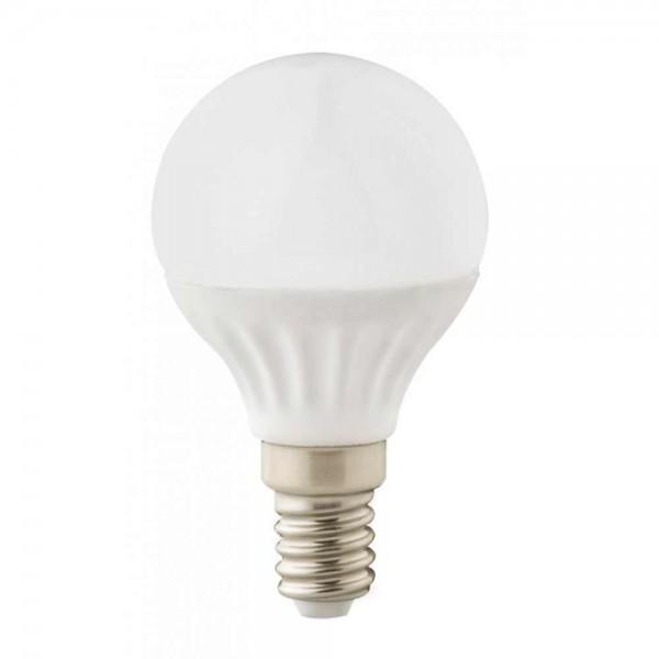LED лампа 4W E14 220V P45, матирана, NW 4000K Ceramic