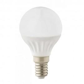 LED лампа 4W E14 220V P45, матирана, WW 3300K Ceramic