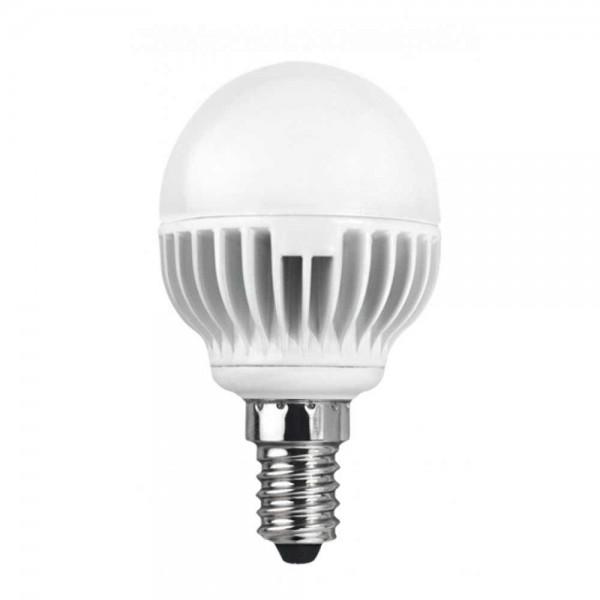 LED лампа 5.4W E14 220V P45/AL, матирана, NW 4200K