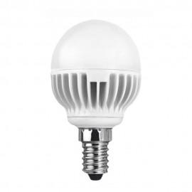 LED лампа 5.4W E14 220V P45/AL, матирана, WW 2700K