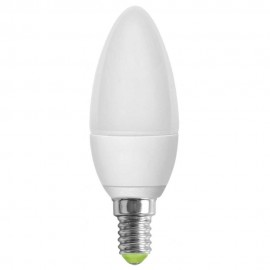 LED лампа 5W E14 220V B35, матирана, NW 4000K