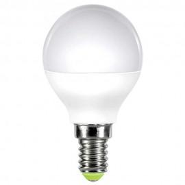 LED лампа 5W E14 220V P45, матирана, NW 4000K