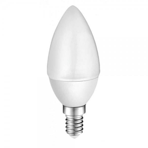 LED лампа Plastic 3.5W E14 220V B35, матирана, WW 3000K
