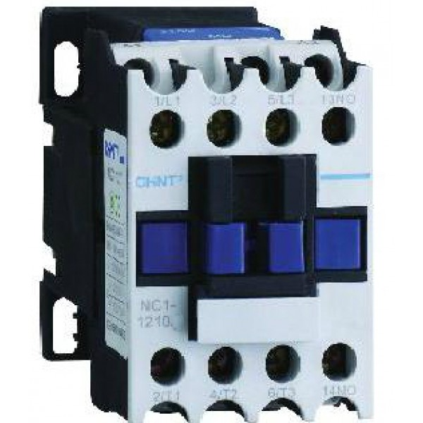 Контактор CHINT NC1-1201, 12A, боб. 110V 50/60Hz