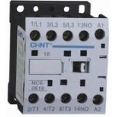 Контактор CHINT NC6-0601, 6A, боб. 220V 50/60Hz