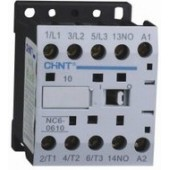 Контактор CHINT NC6-0601, 6A, боб. 24V 50/60Hz